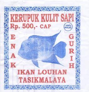 Kerupuk Ikan Cap Ikan Tengiri fantasix kerupuk kulit sapi cap ikan louhan