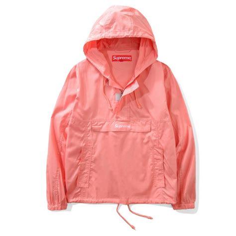supreme jacket supreme contrast stitch jacket pink