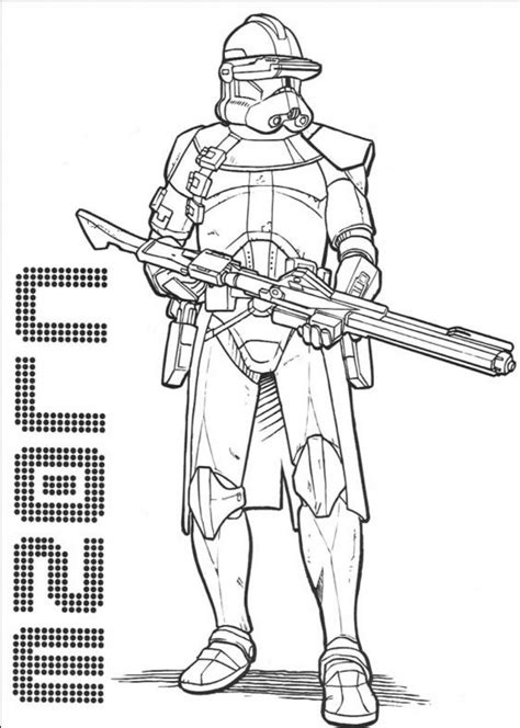 free coloring pages of la trooper