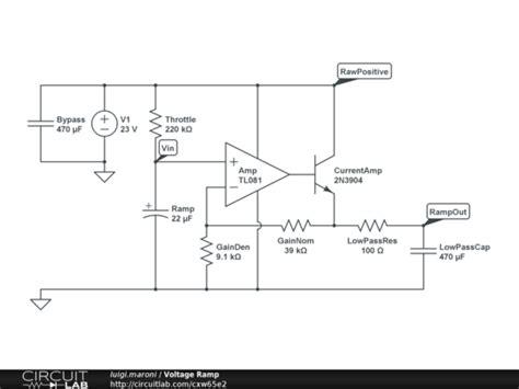 pattern lab starter voltage r circuitlab