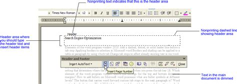creating header and footer creating headers and footers a step by step approach