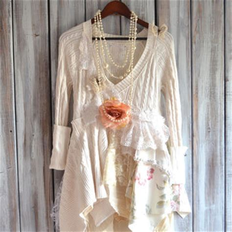 shabby chic of the dresses country chic sweater tunic from true rebel clothing