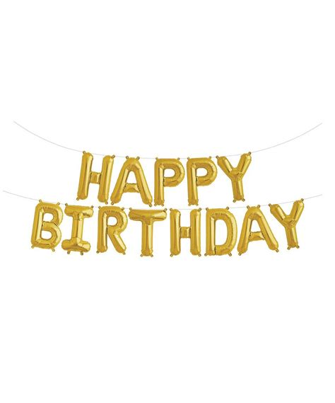 Banner Happy Birthday mylar 16 quot happy birthday balloon banner