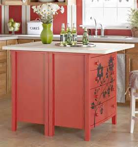 kitchen dresser ideas 4 ways to upcycle your old dresser into a kitchen island