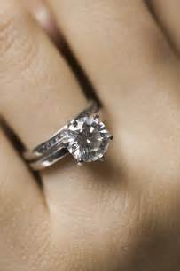 Wear them on ring finger wedding band on top