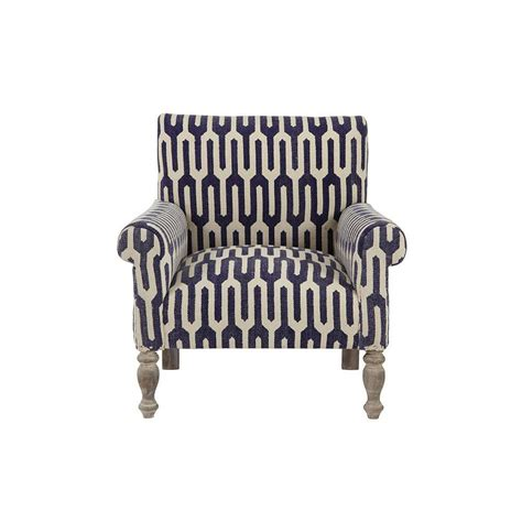 home decorators accent chairs home decorators collection ivy geometric indigo kilim arm
