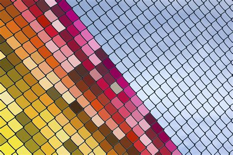 chain link fence decorations fence ideas creative