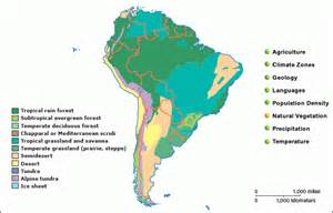 south america vegetation map grolier atlas