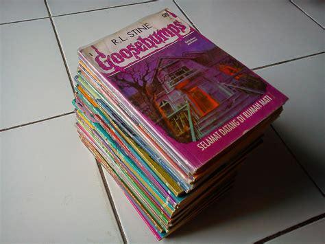 Komik Second Bekas Koleksi Pribadi 37 sudah terjual novel goosebumps