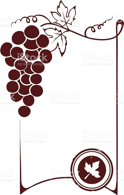 blank wine label template wine label clip border cliparts