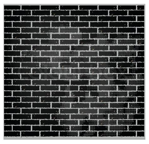 pattern wall vector pattern texture brick wall black color stock vector