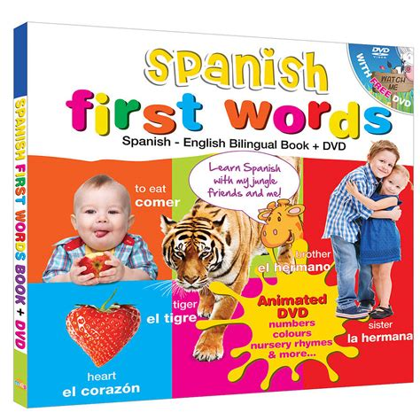 free spanish books for kids spanish for kids bilingual book and free dvd by bee smart