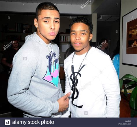 Quincy Set quincy brown and justin combs on set of quincy brown