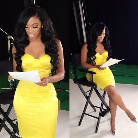 where does porsha stewart get her weave dobe porsha stewart to appear in first commercial photo