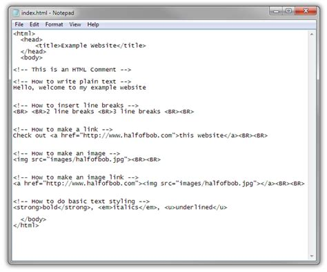 layout html notepad website codes html for notepad phpsourcecode net