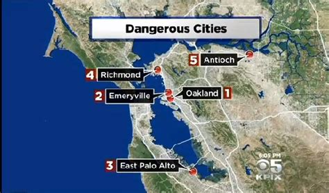 san jose homicide map 2014 fbi crime report identifies emeryville as 2nd most