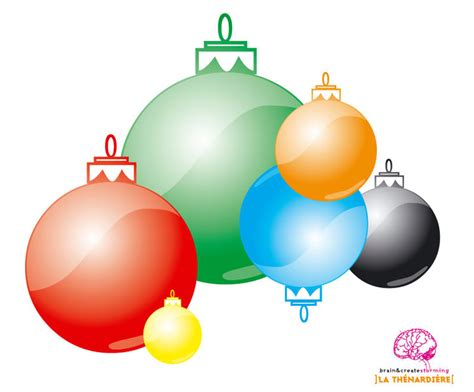 download christmas bubbles vector free