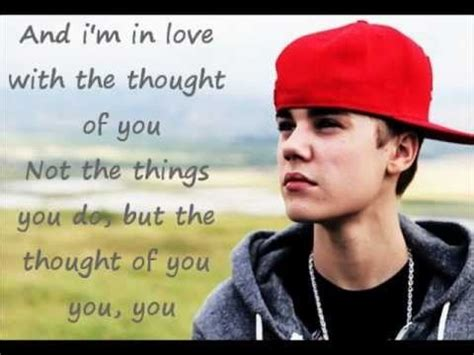 krafta justin bieber thought of you 1000 images about justin bieber song lyrics on pinterest