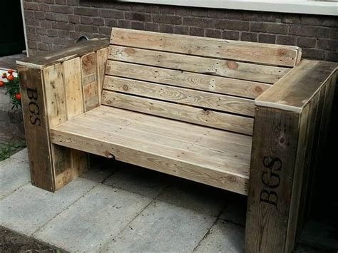 making a bench outdoor pallet bench 99 pallets