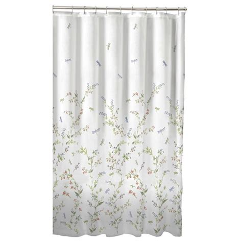 are shower curtains machine washable floral dragonfly polyester machine washable shower curtain fastfurnishings com
