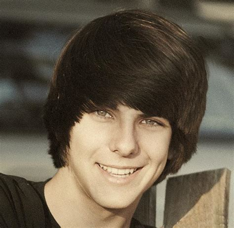 Teen Boys Hair Syles With Long Bangs Swept To Side | mediun teen hairstyle with long swept bang pictures jpg