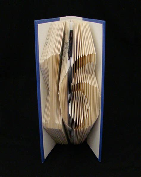 Paper Folding With Numbers - folded book