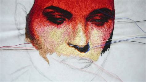 embroidery portrait embroidery portrait