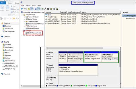 Hardisk Di merubah urutan partisi hardisk di windows trik komputer