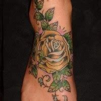 jericho rose tattoo small flower on ankle tattooimages biz