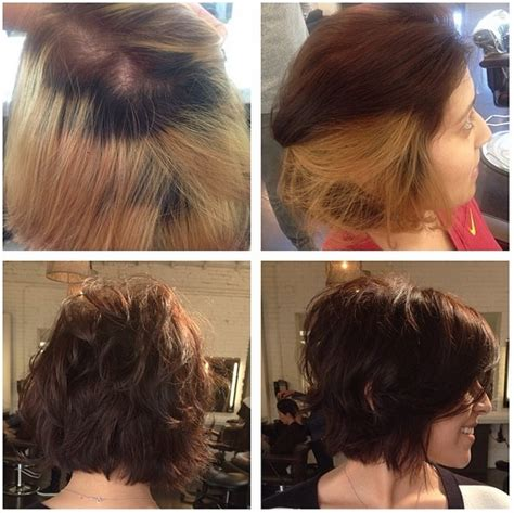 before and after hair color pictures color correction hair before and after images