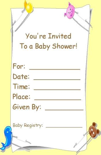 Registry Announcement Cards Template by Free Baby Registry Announcement Cards Template