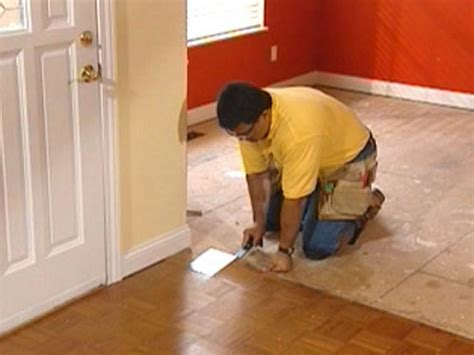 how to remove carpet and parquet flooring how to diy