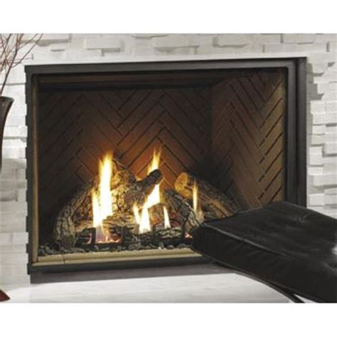 Kingsman Hbzdv3632 36 Quot Zero Clearance Direct Vent Gas Fireplace Kit