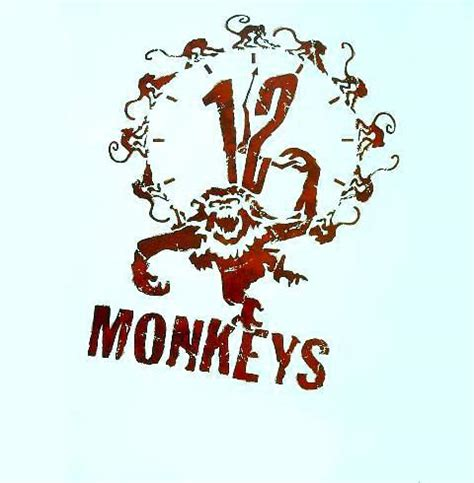 12 monkeys tattoo design
