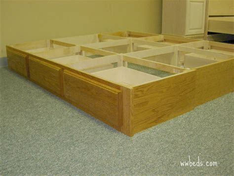 diy pedestal bed plans 187 woodworktips