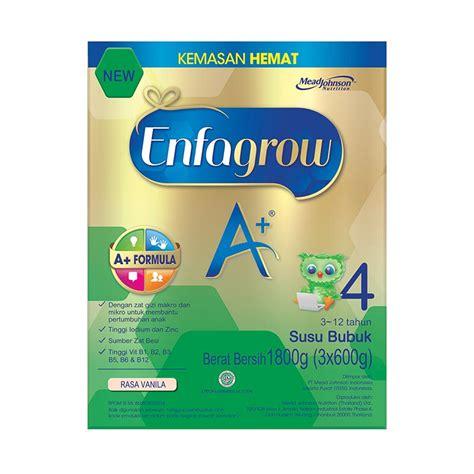 Enfagrow A 4 1800 Gram Vanila Megablocks jual enfagrow a 4 vanilla 1800 g harga