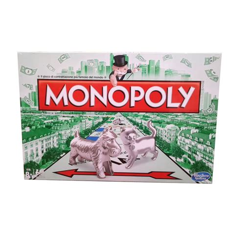 monopoly gioco da tavolo monopoly rettangolare gioco da tavolo versione italiana