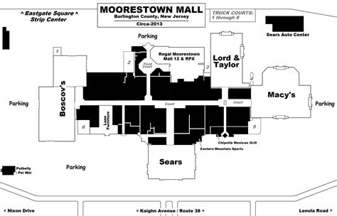 layout of moorestown mall mall hall of fame