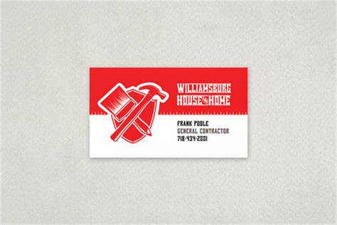 home improvement repair business card template inkd