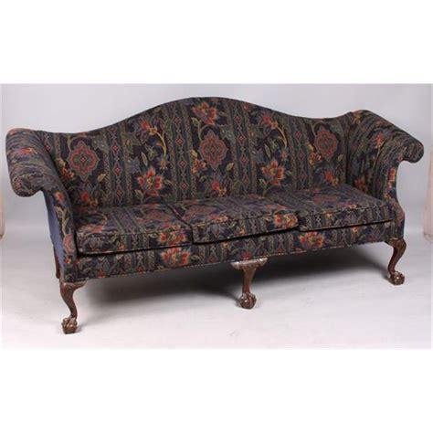 sofa chippendale chippendale camelback sofa