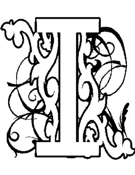 coloring pages illuminated letters illuminated letters coloring pages coloring pages