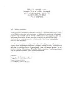 Endorsement Letter To Client Clifton Mitchell Seminars Trainings Workshops About Resistance In Psychotherapy Counseling