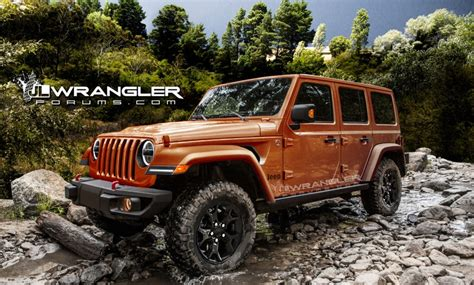 new jeep wrangler renderings new jeep wrangler jlu brought to 2018