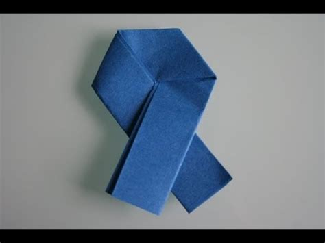 How To Make A Ribbon Origami - origami ribbon letter