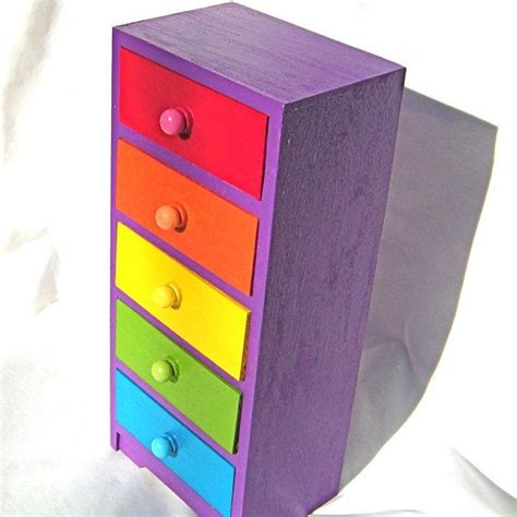 Rainbow Drawers 1000 Ideas About Multicoloured Drawers On