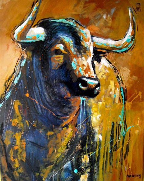 Imagenes Toros Abstractos   17 mejores im 225 genes sobre oleo en pinterest bellas artes