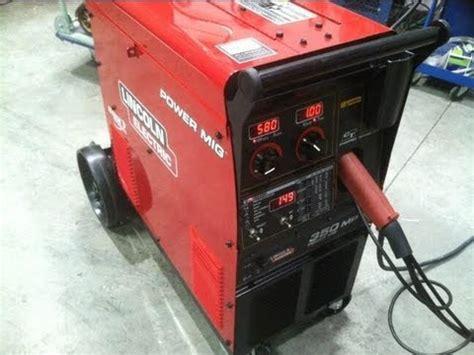 mig welding aluminum lincoln powermig 350mp part1