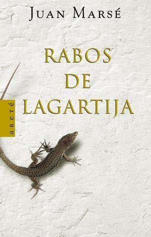 book review rabos de lagartija by juan mars 233 mboten