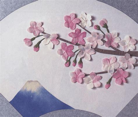Cherry Blossom Origami - origami cherry blossom tutorial paper kawaii