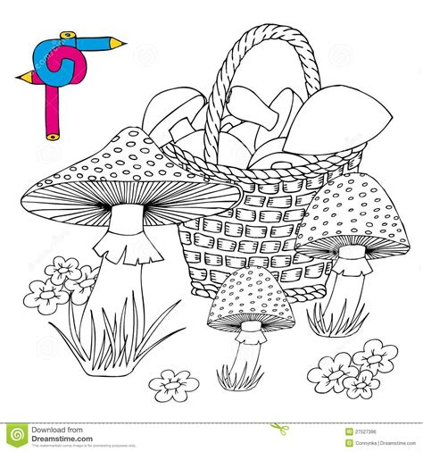 abstract mushrooms coloring pages free coloring pages of mushrooms with flowers